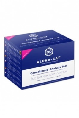 Tester AlphaCAT Regular Kit – Analiza kanabinoidów
