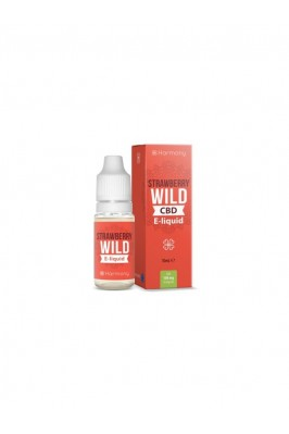 E-liquid Harmony Strawberry 600mg CBD 10ml